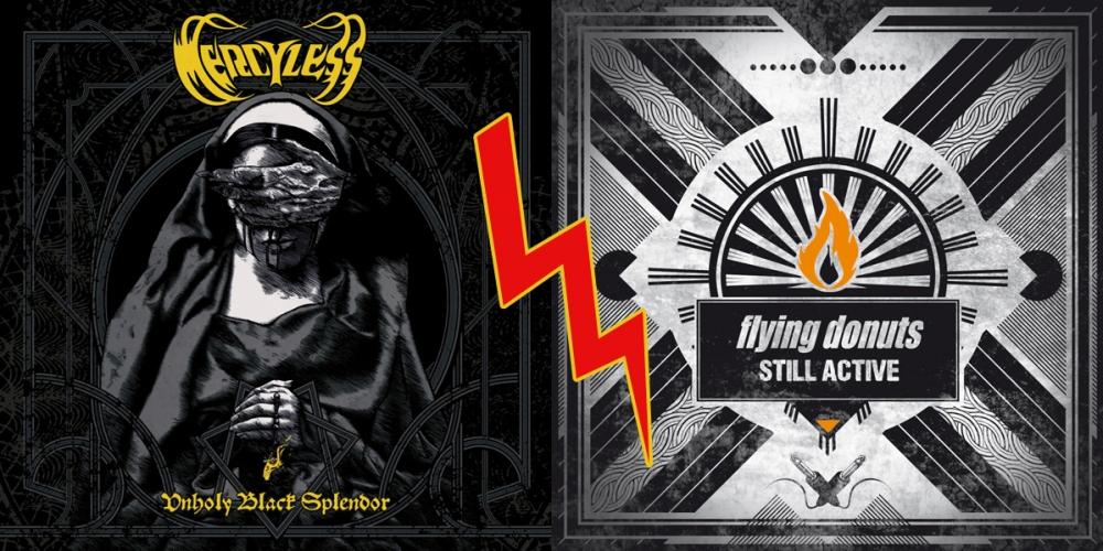 Mercyless et Flying Donuts: deux styles musicaux opposés, deux groupes français qui comptent pour deux interviews accordées en direct dans le Cri du Lynx.